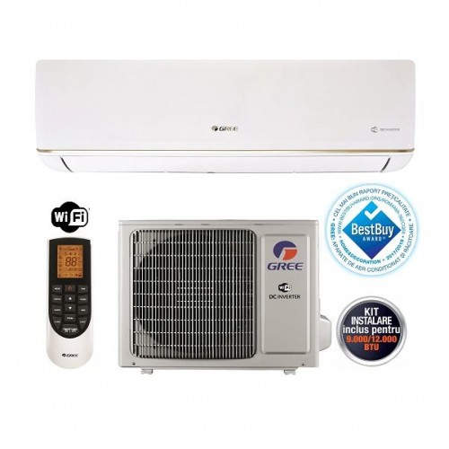 Aer conditionat Gree Bora GWH09AAB-K3DNA5A Inverter 9000 BTU