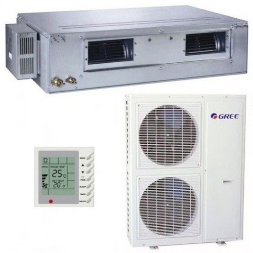 Aer conditionat tip Duct Gree GFH48K3FI-GUHD48NM3FO Inverter 48000 BTU (trifazat)