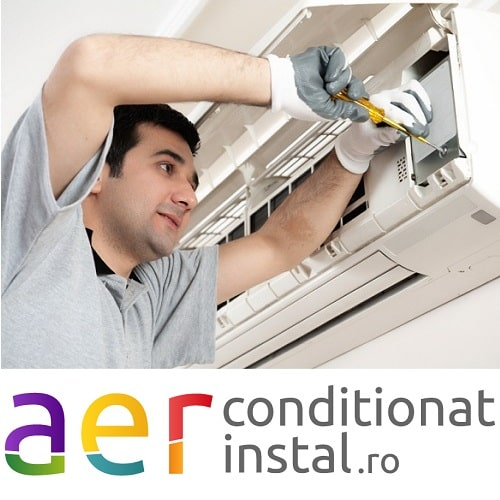 Revizie generala aparat aer conditionat tip split 7000 - 12000 BTU