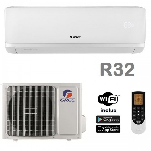 Aer conditionat Gree Bora A2 White R32 GWH18AAD-K6DNA4B Inverter 18000 BTU