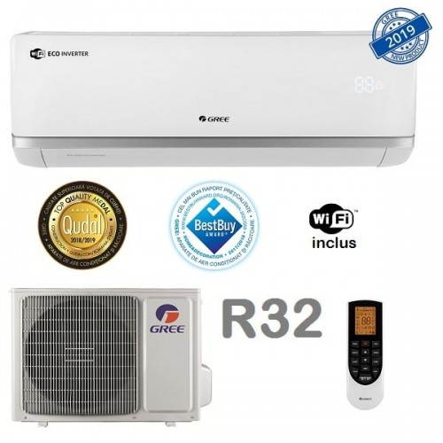 Aer conditionat Gree Bora A2 White R32 GWH18AAD-K6DNA2B Inverter 18000 BTU