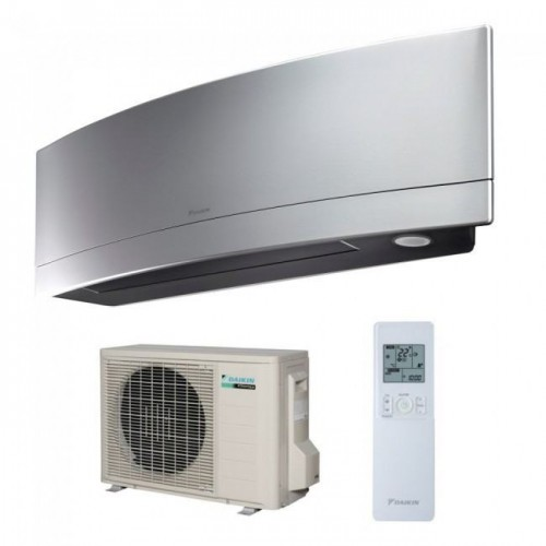 Aer conditionat Daikin Emura Bluevolution FTXJ35MS-RXJ35M Inverter 12000 BTU Silver