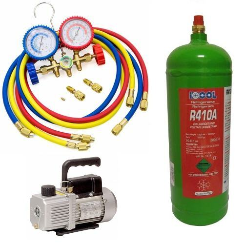 Incarcare cu freon aparat aer conditionat tip split 7000 - 12000 BTU